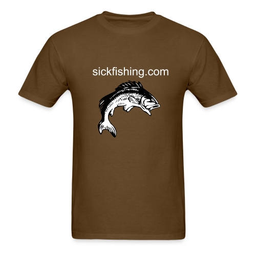 Original Sick Fishing Tee Shirt 2009 - Men's T-Shirt