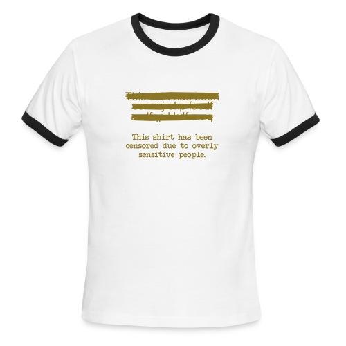 Censored - Men's Ringer T-Shirt