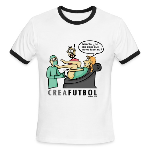 CreaFutbol - Men's Ringer T-Shirt