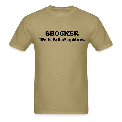 options - Men's T-Shirt