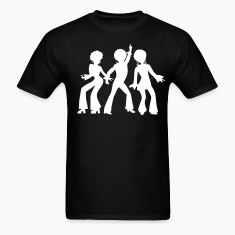 Black dancing_people T-Shirts