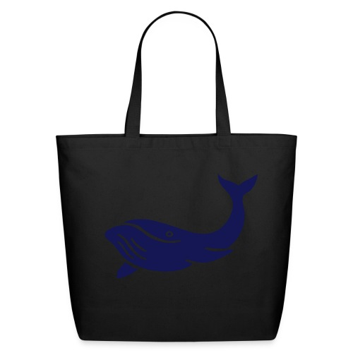 Another WhaLe in a Bag - Eco-Friendly Cotton Tote