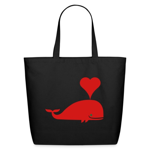 Whale in a Bag - Eco-Friendly Cotton Tote