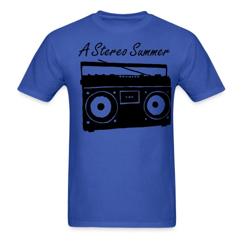 A Stereo Summer Stereo Tee - Men's T-Shirt
