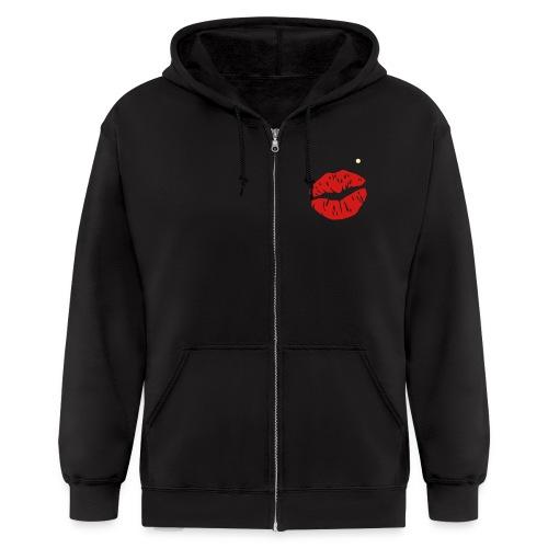 KISS HOODIE - Men's Zip Hoodie