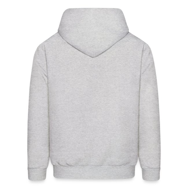 Mens Hooded Hail Sweatshirt- Ash