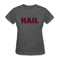 Women's T-Shirts ~ Women's T-Shirt ~ Ladies Hail T - Deep Heather