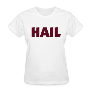 Ladies Hail T - White  - Women's T-Shirt