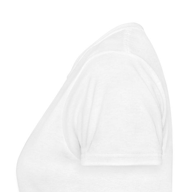 Ladies Hail T - White