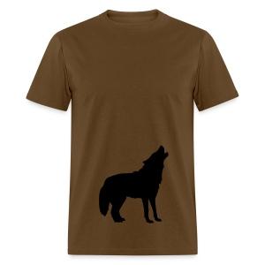 Howling Wolf  Tee Shirt - Men's T-Shirt