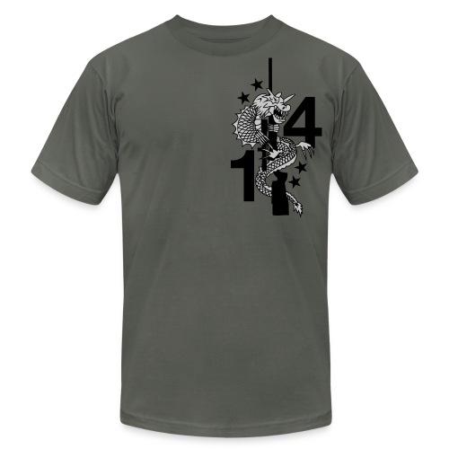 1st Blt 4th Marines Sniper Platoon  - Men's Fine Jersey T-Shirt