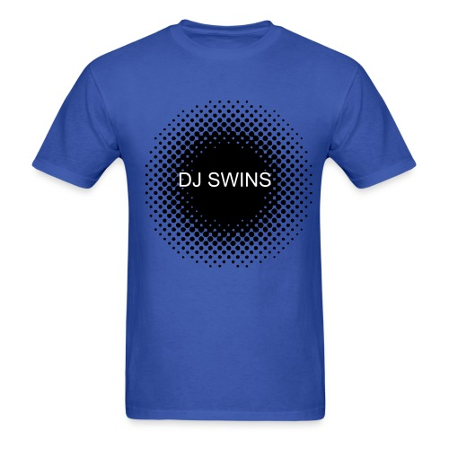 DJ SWINS Blue Tee - Men's T-Shirt