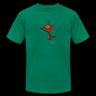 T-Shirts ~ Men's T-Shirt by American Apparel ~ Retro Martini