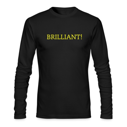 Bright Future Solutions:Solar Brilliant AALST - Men's Long Sleeve T-Shirt by Next Level