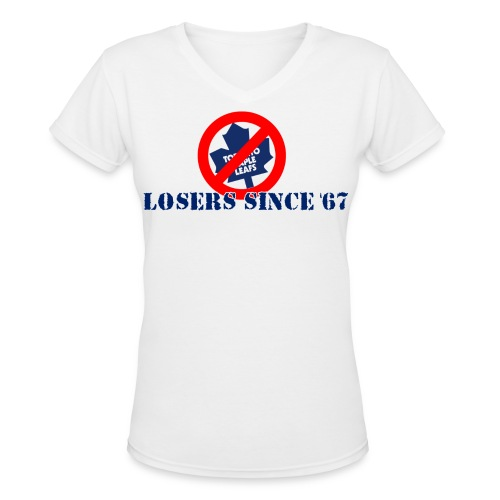 Light Colored Losers Since 67' - Women's V-Neck T-Shirt