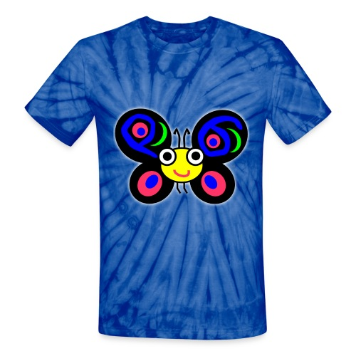 Camelia - Unisex Tie Dye T-Shirt - Unisex Tie Dye T-Shirt