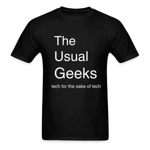 The Usual Geeks Shirt #1 - Men's T-Shirt