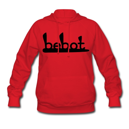 Bebot Sweatshirt - Black Flock - Women's Hoodie