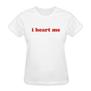 i heart me for Women - Women's T-Shirt