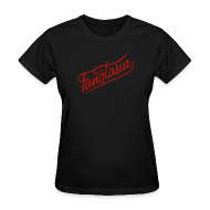 T-Shirts ~ Women's T-Shirt ~ FANGTASIA Women's T-Shirt - Metallic Red