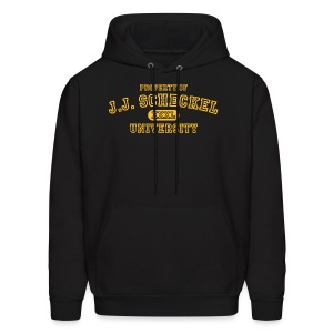 Property of JJ Scheckel University - Men's Hoodie