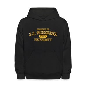 Property of  JJ Scheckel University - Kids' Hoodie