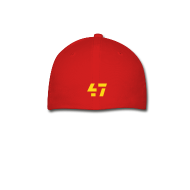 Caps ~ Baseball Cap ~ HTTR 47 Hat RED