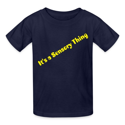 Sensort Thing - Kids' T-Shirt