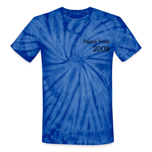 Peace Float 2009 No slogan - Unisex Tie Dye T-Shirt