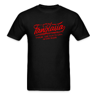 T-Shirts ~ Men's T-Shirt ~ Vintage FANGTASIA WHERE THE FUN BEGINS AFTER DARK T-Shirt