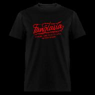 T-Shirts ~ Men's T-Shirt ~ Vintage FANGTASIA WHERE THE FUN BEGINS AFTER DARK T-Shirt