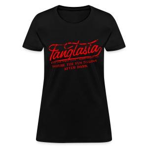 Vintage FANGTASIA WHERE THE FUN BEGINS AFTER DARK Women's T-Shirt - Women's T-Shirt