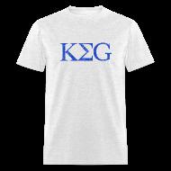 T-Shirts ~ Men's T-Shirt ~ KEG Vintage College Beer Drinker T-Shirt
