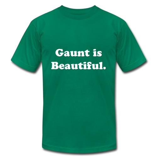 Gaunt is Beautiful - Men's Fine Jersey T-Shirt