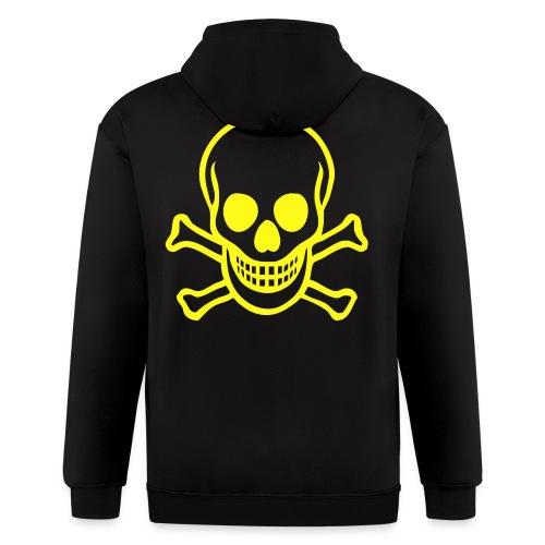Men's Zip Hoodie - Skulls