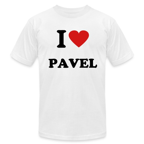 I heart Pavel T - Men's  Jersey T-Shirt