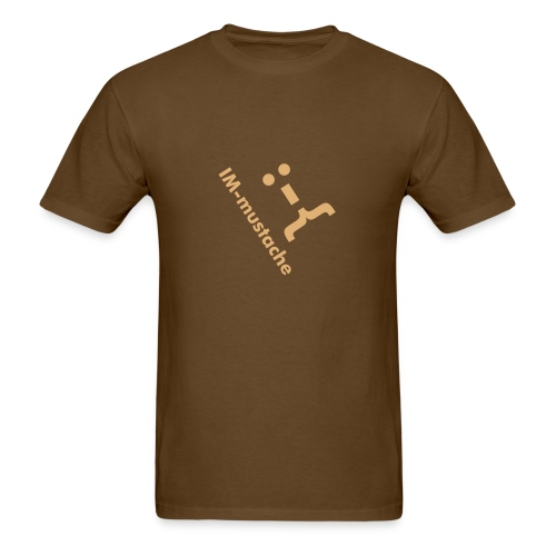 IM-Mustache (mens) - Men's T-Shirt