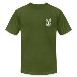 ODST OD GREEN W/ RANK! - Men's Fine Jersey T-Shirt