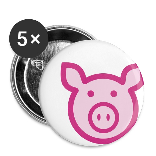 Oink Buttons - Large Buttons
