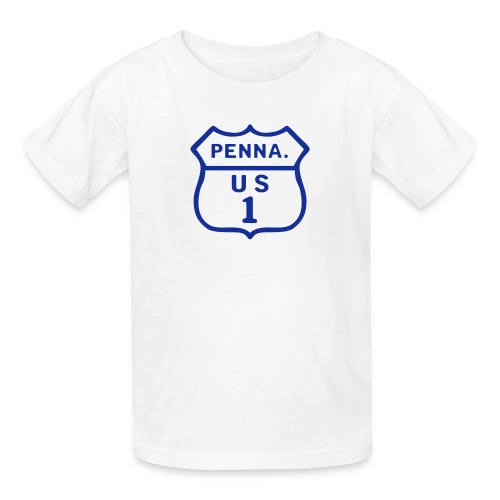 PA/US Route 1 - Kids' T-Shirt