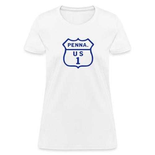 PA/US Route 1 - Women's T-Shirt