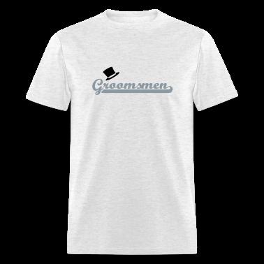 Ash  Groomsmen T-Shirts