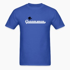 Royal blue Groomsmen T-Shirts