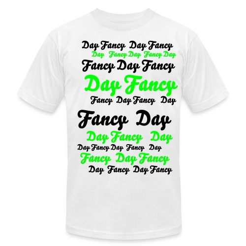 Fancy Day Street Tee - Men's Fine Jersey T-Shirt
