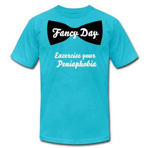 Fancy Day Peniaphobia Tee - Men's Fine Jersey T-Shirt