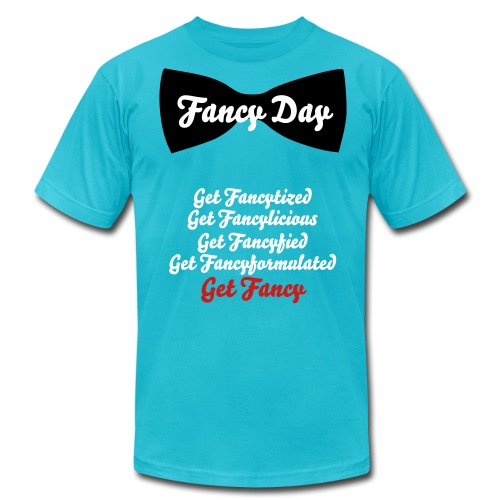 Fancy Day Fancy Variations Tee - Men's Fine Jersey T-Shirt