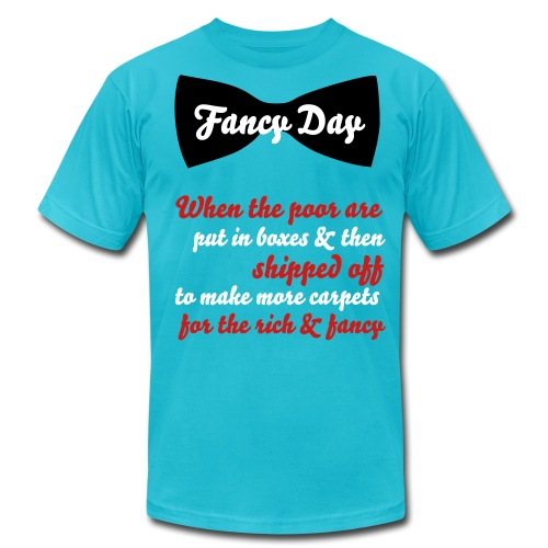 Fancy Day Solution Tee - Men's Fine Jersey T-Shirt