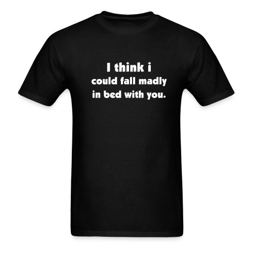 madly in bed - Men's T-Shirt