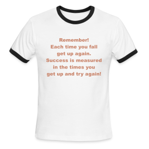 Remember... - Men's Ringer T-Shirt