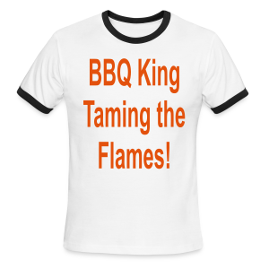 BBQ King - Men's Ringer T-Shirt